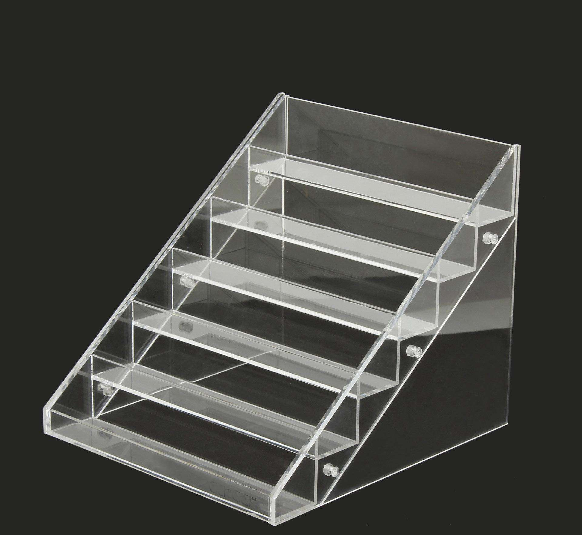 High Transparency Acrylic Nail Polish Display Rack