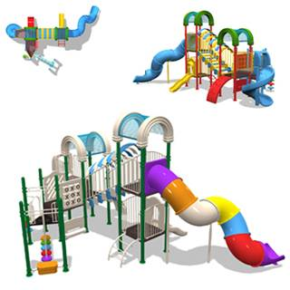 Outdoor Play Structure WF-S019