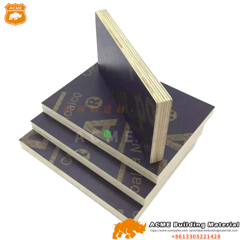 Recycle Finger Jointed Core 18mm Melamine plywood for construction