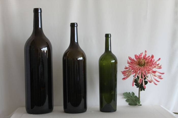 wine bottle dimensions
