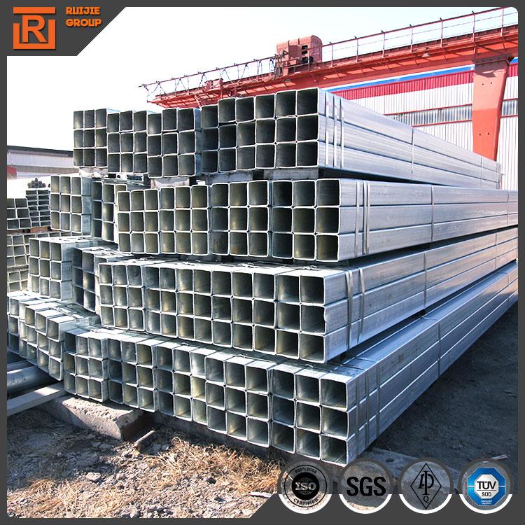 40x40 galvanized square steel pipe