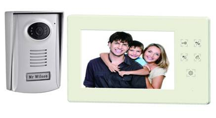 Basic Touch Button Video Door Phone  SH-3000TU