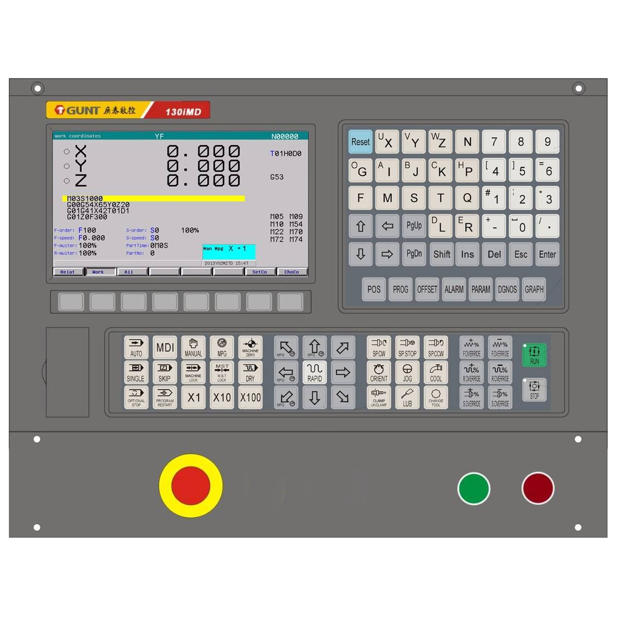 CNC Controller for Milling Machine(130iMD)