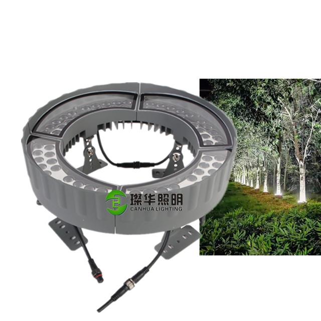 Warm White 3000K Yellow Garden Park IP65 Outdoor Spotlight LED Projector Tree Light 30W 60W 48W 72W