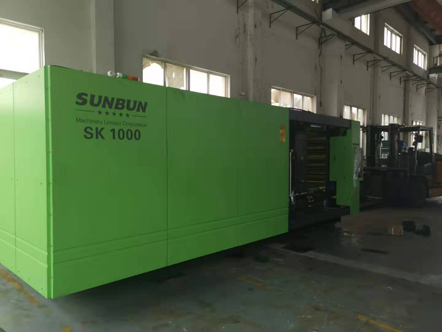 Cheap price Sunbun 1000T plastic pallet making servo motor injection molding moulding machine