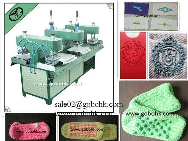 Liquid Silicon garment logo Making machine