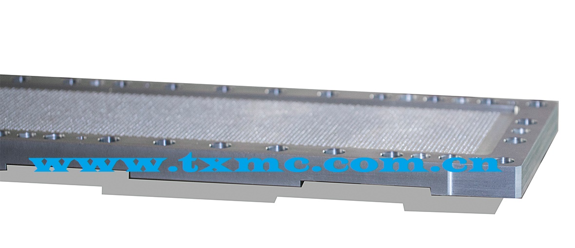 Spinneret for non-woven fabric