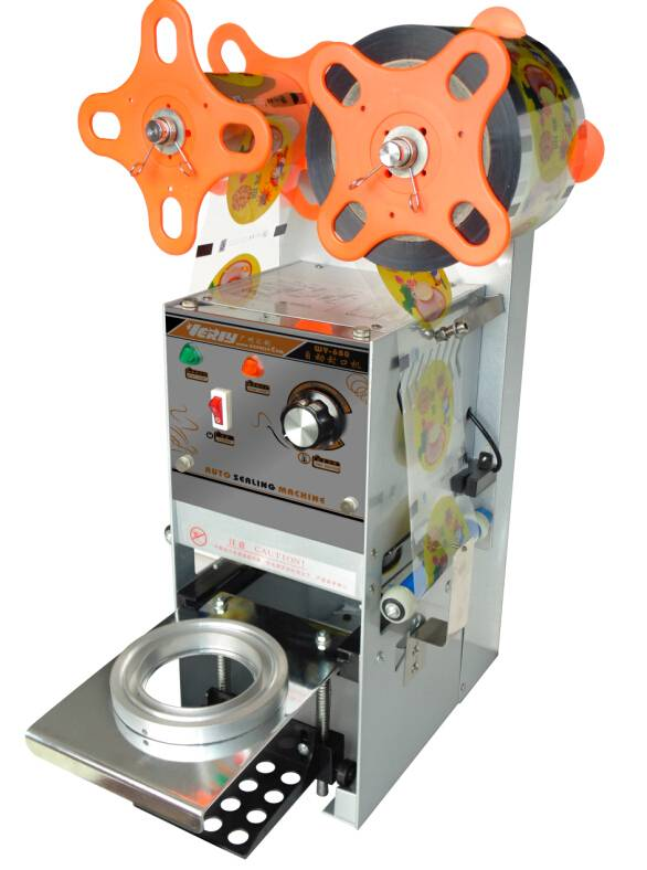 High efficiency Hot sale Automatic Cup Manual Sealing Machine