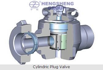 Cylindric Plug Valve