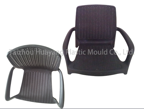 Plastic Rattan Chair Mould