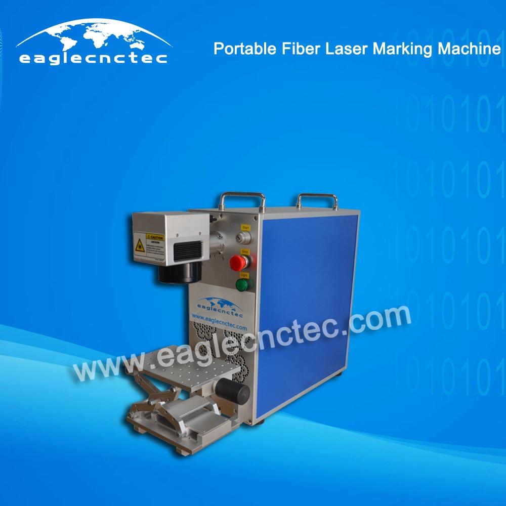 Portable CNC Fiber Laser Nameplate Marking Machine for Sale