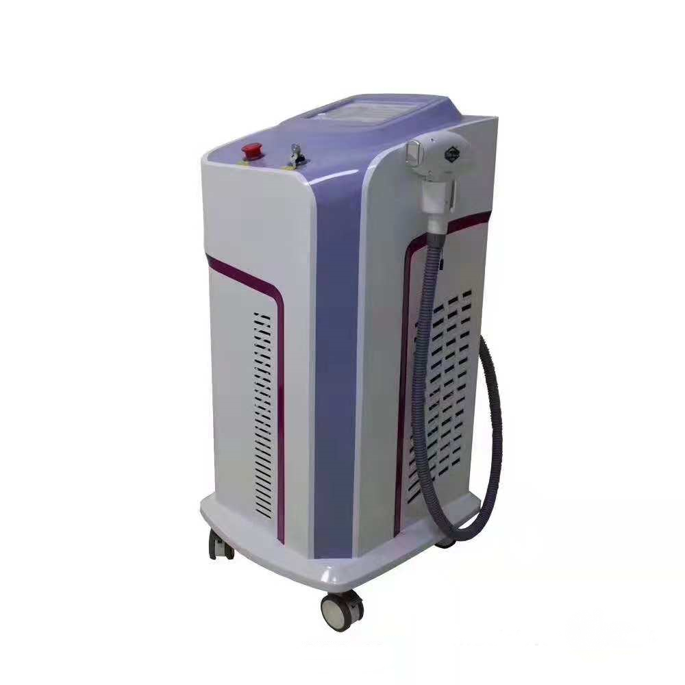 Non-Channel Technology 808nm/755nm/1064nm Diode Laser Hair Removal Machine 808nm diode laser process