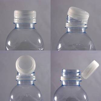 Hinged Screw Type Plastic Bottle Cap / Closure