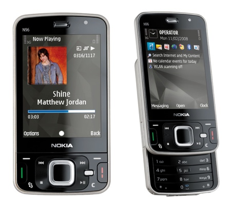 Wholesale Nokia N96 Smartphone 16 GB original