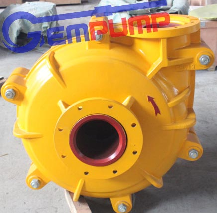 6/4E-AH Mining Slurry Pump Gold, Silver, Iron ore pump