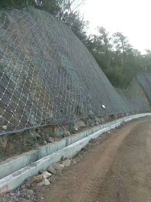 How Is the Gabion Net Installed
