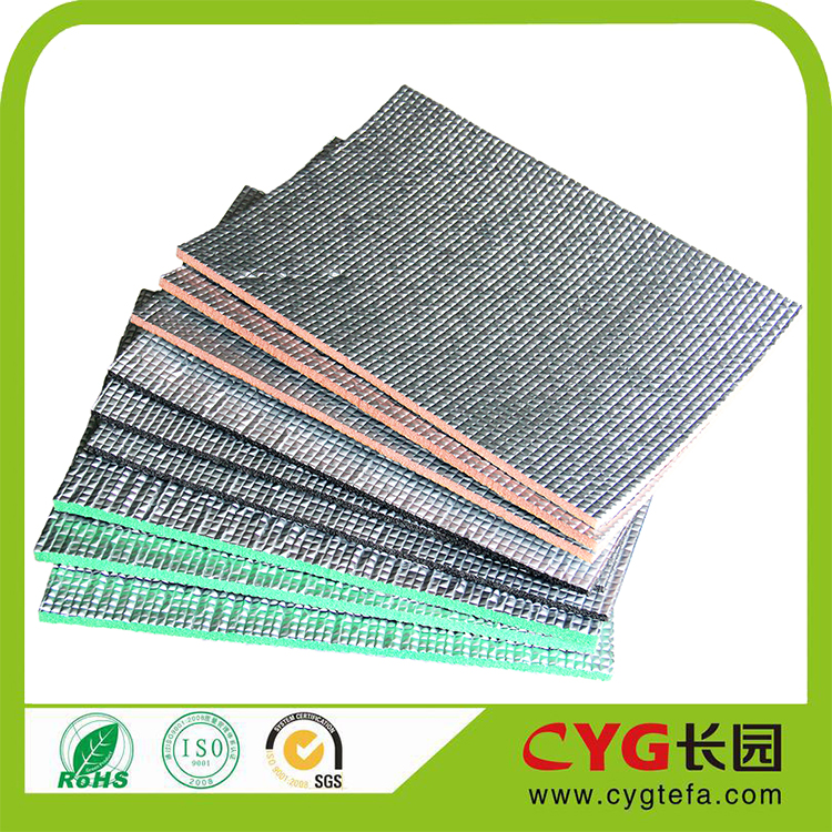 High Reflective Aluminum Foam Heat Insulation Material/XPE Radiant Barrier Roofing