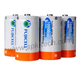 FUJICELL Rechargeable Ni-MH Battery D 10000mAh