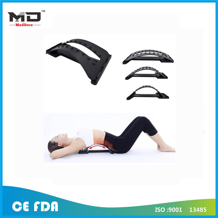 Back Massage Stretcher Stretching Magic Lumbar Support Waist Neck Relax Mate Device Spine Pain Relie