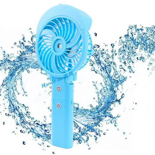 Handfan Mini Handy Power Bank Humidifier Fan