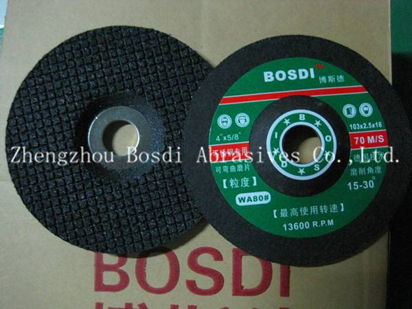 Flexible Grinding Wheel Black for Metal