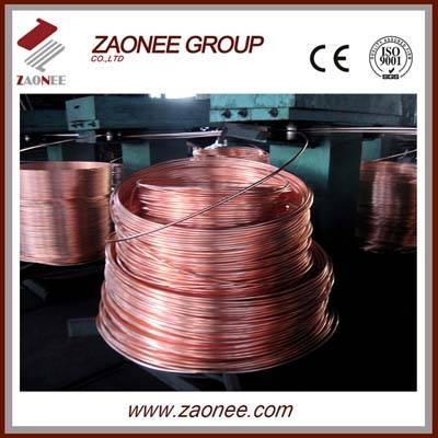 Copper rod upward continuous casting facility