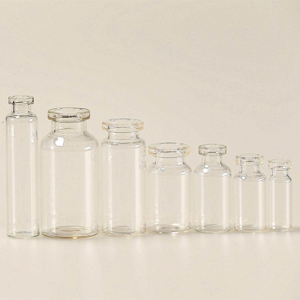 1ml 2ml 5ml 7ml 8ml 10ml clear glass bottle vials for pharma using medical packaging