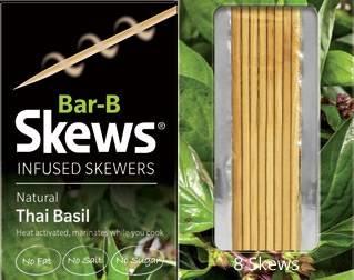 Thai Basil Skews