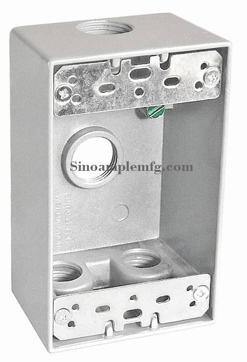 Cast Aluminum weatherproof box-WP10182
