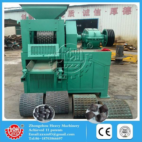 High capacity Low-consumption coke fine briquetting machine
