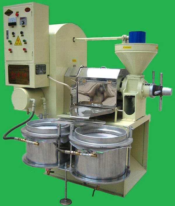 Sunflower oil press safety procedures
