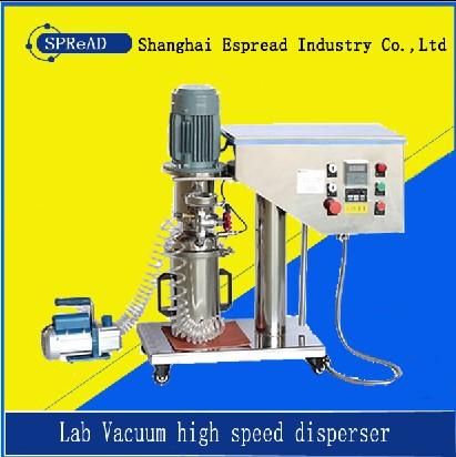lab vacuum disperser mixer