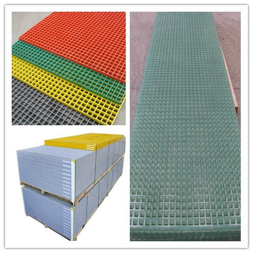 38x38mm 1220x3660 molded FRP grating