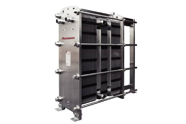 Accessen Plate Heat Exchanger for Dairy Applications