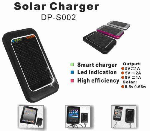 Emergency solar charger