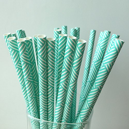 2018 New Food grade paper cutting straw, cake cakepop candy paper stick