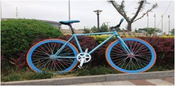 700*23c colorful fixed gear bike from bicycle factory