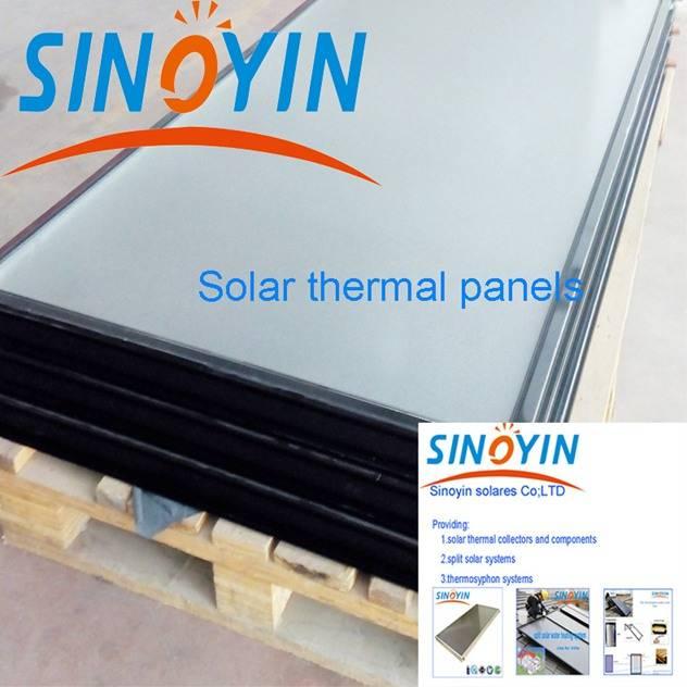 solar thermal panel of 2.15sqm solar key mark
