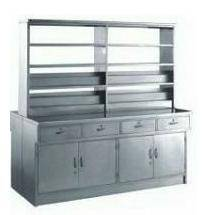 stainless steel double side medicine storage cabinet