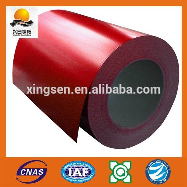 building material china supplier RAL ppgi galvanized steel coil