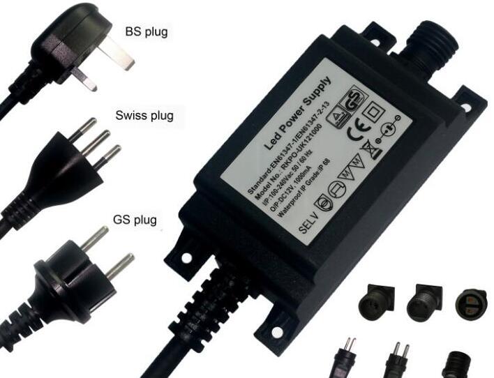 12v 5a Switching Led Ac Dc Adapter waterproof led transformer AC 100-240V