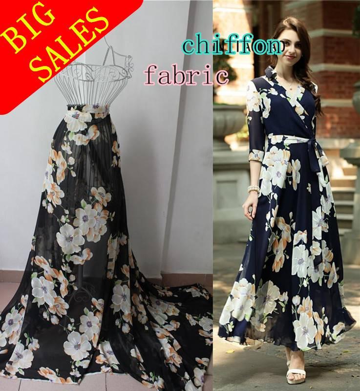 100% Polyester fashion chiffon fabric