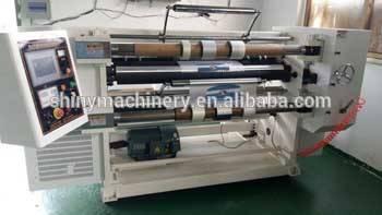 Automatic Label Jumbo Kraft Paper Roll Cutter Slitter Rewinder Cutting Rewinding Slitting Machine Pr