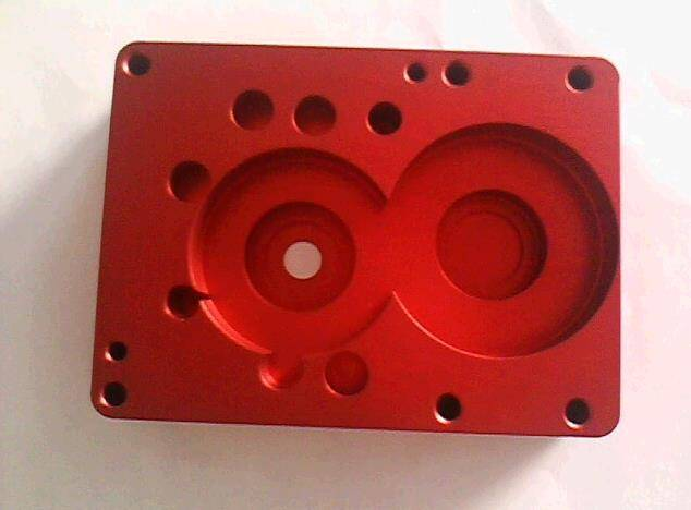 Custom aluminum precision cnc machined part