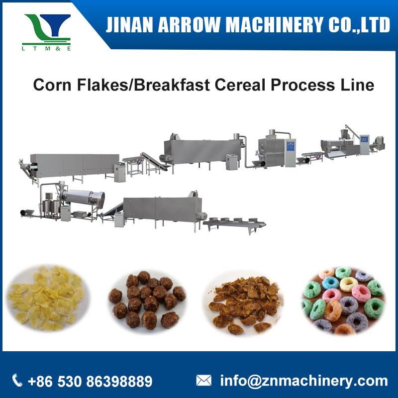 corn flakes process line