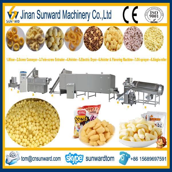 Corn Inflating Snack Food Making Machine