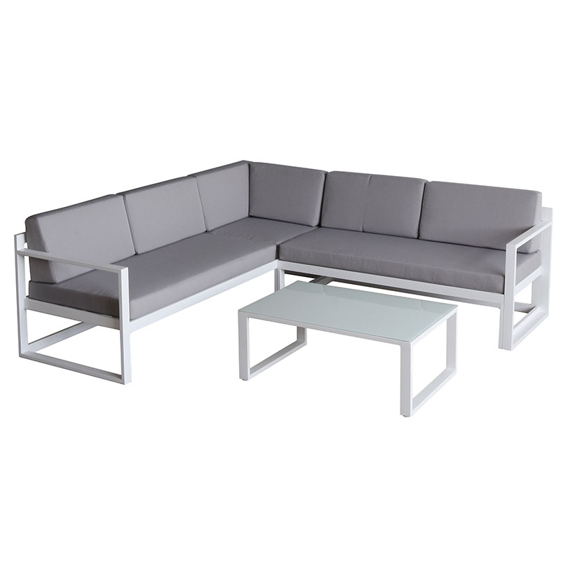 Hormel furniture weatherproof exotic big lot extra long reception outdoor sofa set