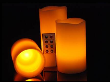 Paraffin led candle