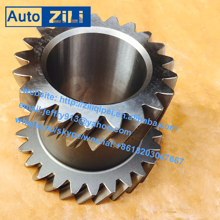 Chinese truck s6-90 gearbox overdrive 3rd 4th gear 1268303097 for counter shaft