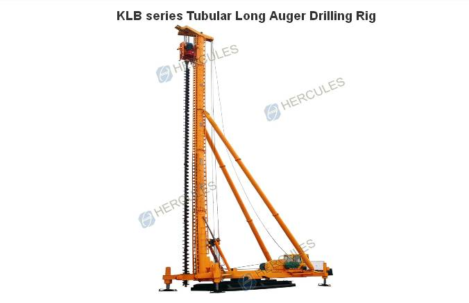 Long Helix Pile  Drilling Rig